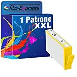 PlatinumSerie® 1x Druckerpatrone XXL für HP 920 XL Yellow HP Officejet 6000 6000 Special Edition 6000SE 6000W 6000 Wide 6000 Wireless 6500 6500A 6500A Plus 6500 AIO 6500 Wide 6500 Wireless 7000 7000 Special Edition 7000SE 7000AiO 7000 Wide 7500A 7500A Wireless