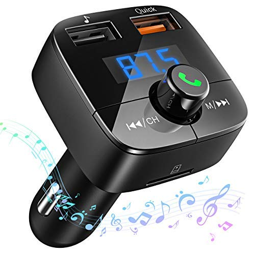 VicTsing Transmisor FM Bluetooth