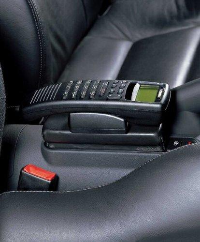 KUDA 093150 Halterung Echtleder schwarz für Audi TT/Cabrio 11/1998 bis 8/2006; (für Festeinbau)