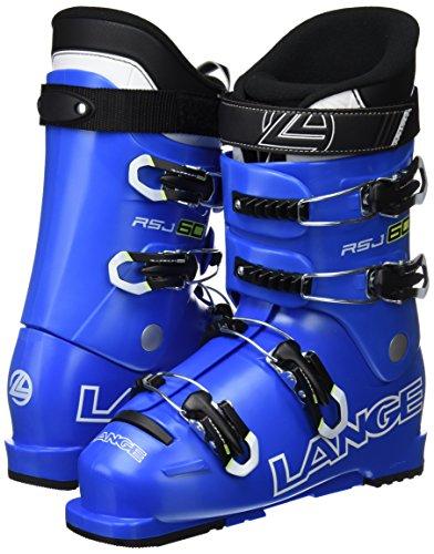 LANGE RSJ 60 - Botas de esquí para niños, color azul, talla 24.5