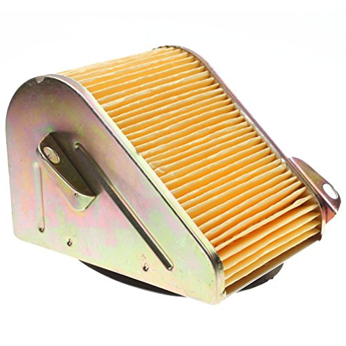 GOOFIT Filter Luftfilter -Element für GY6 125cc 150cc ATV Go Kart Roller Quad Moped Motor (Atv-motor-reiniger)