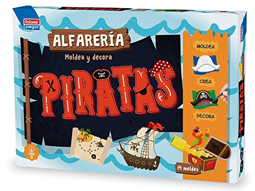 Falomir Pottery Pirates Tray with molds 28438