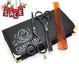 CANDURE® - 5.5' Forbici da parrucchiere - forbici parrucchiere - barbiere estetista per sfoltimento 14cm immagine