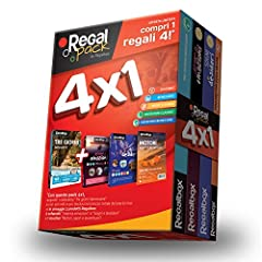 Idea Regalo - Regalbox - Regal Pack 4X1 Red 2018-3 cofanetti Regalo e 1 e-Voucher