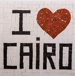 Trois petits points Kit de Mosaico Completo de Tres Puntos, Modelo Love Cairo-Geant+, 6192459601182, Universal