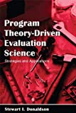 Image de Program Theory-Driven Evaluation Science: Strategies and Applications