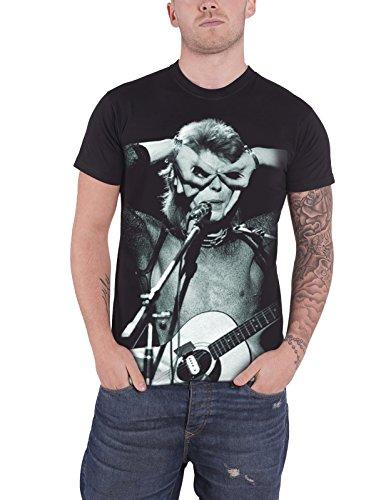 david-bowie-acoustics-aladdin-sane-contrast-officiel-homme-nouveau-noir-t-shirt