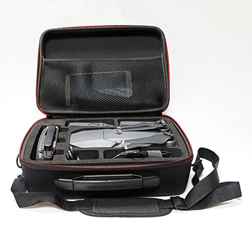 Fulltime® PC + ABS Hardshell Wasserdichte Tragetasche Suitcase Umhängetasche für DJI Mavic Pro RC Quadcopter, 29 x 21 x 11cm, Schwarz (Schwarz) - 2