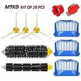MTKD Kit brosse pour iRobot Roomba série 600 - Kit de 10 pièces accessoires...