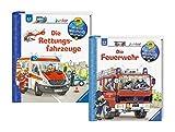 Ravensburger Junior Bücher Set - Wieso? Weshalb? Warum? Die Feuerwehr und Die Rettungsfahrzeuge Wieso? Weshalb? Warum?