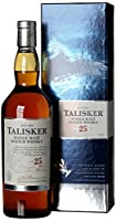 Talisker 25 Year Old Single Malt Scotch Whisky 2014, 70 cl from Talisker
