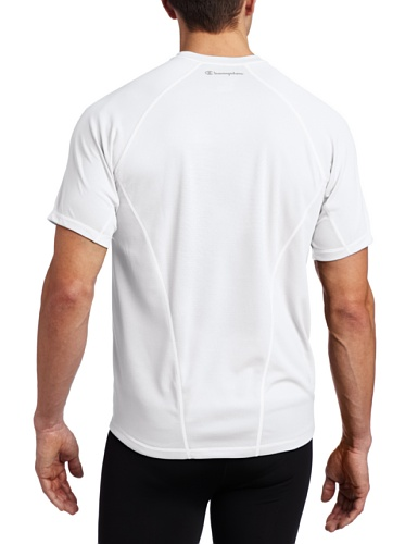 Champion Mens Double Dry Training Tee White