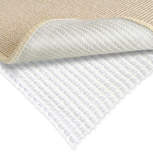 Teppich Rutsch Stopp: Teppichunterlage rutschfest | Anti-Rutsch Matte für Teppiche, Läufer uvm. | einfach zuschneidbar | REACH zertifizierter Gleitschutz | viele Größen ( 80 x 250 cm )