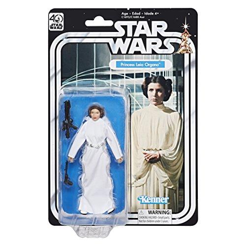 Star Wars The Black Series 40. Jahrestag Prinzessin Leia Organa 13,3cm ()