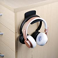 Neetto Headphone Hanger Holder Wall, Headset Hook under Desk, Universal Stand for Sennheiser
