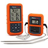 ThermoPro TP20 Digital BBQ Thermometer Wireless mit 2 Temperaturfühlern für BBQ