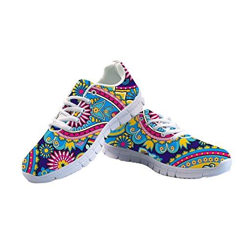 Schuh-horn (Coloranimal K-CC406AQ5, Damen Niedrig, Horn Leaf-2 - Größe: 39)
