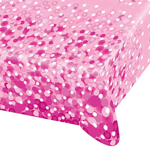 Pink Sparkle Party Papier Tischdecke ()