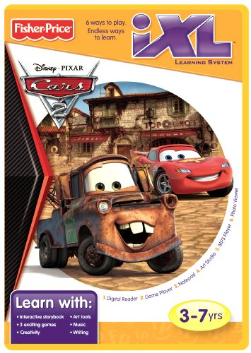 Fisher-Price iXL Learning System Software Disney/Pixar Cars 2 by Fisher-Price (Price Fisher Disney Cars)