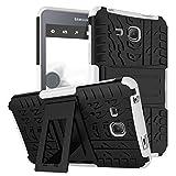 Samsung Tab A 7.0 Carcasa,Funda para Galaxy Tab A6 7'',XITODA Hybrid Armor Cover Tough Carcasa Tablet Case para Samsung Galaxy Tab A 7.0 Pulgadas 2016 SM-T280/T285 Funda Protección con Kickstand - Blanco