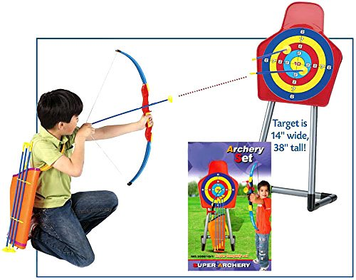 King Sport Archery Set With Target and Stand