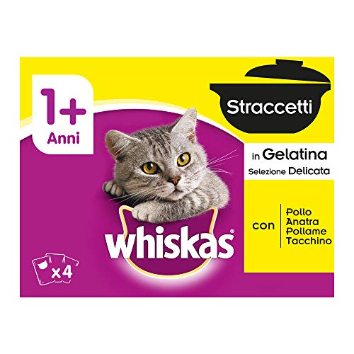 Whiskas Straccetti in Gelatina Selezione Delicata - 1020 g