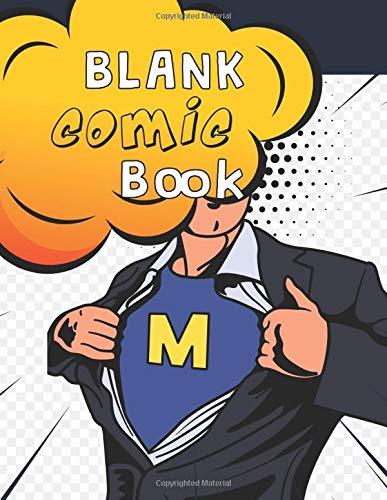 Blank Comic Book: Draw Your Own Comics