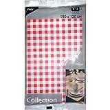 Tischdecke soft selection 120x180 cm rot/weiss