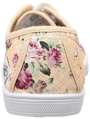 Le Temps des Cerises  Ltc Basic 02,  Damen Sneaker Mehrfarbig - Multicolore (Flora)