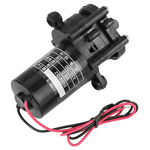 Hilitand 12 V ZC-A250 Mini Pompa acqua autoalimentata a ingranaggi a corrente continua resistente alla corrosione autoadescant