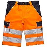 Dickies Kurze Warnschutzhose, Farbe:Orange;Größe:58