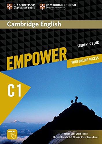 Cambridge English Empower C1. Student's Book (print) + assessment package, personalised practice, online workbook & online teacher support. Für Erwachsenenbildung por Adrian Doff