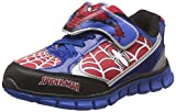 Spiderman Boy's Royal Blue and Red Indian Shoes - 10 kids UK/India (28 EU)