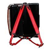 Musique First Rouge en cuir véritable super large épais confortable 96Accordéon 120Basses Sangle d\'épaule de sangles accordéon Accordéon Ceinture