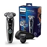 Philips S9711/41 Rasoir électrique Series 9000 avec tondeuse barbe clipsable