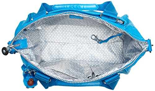 Kipling Amiel, Sac porté épaule Bleu - Blau (Icy Blue 10N)