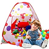 Kits Play Tent,Sonyabecca Ball pit House for Kids Tent Play Tents for Girls Indoor Outdoor Tale Tent