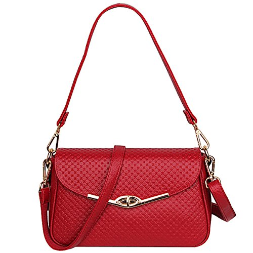 LAIDAYE Damenmode Handtaschen-Schultertasche-Münzenbeutel Kurierbeutel Kleines Quadrat-Paket 2