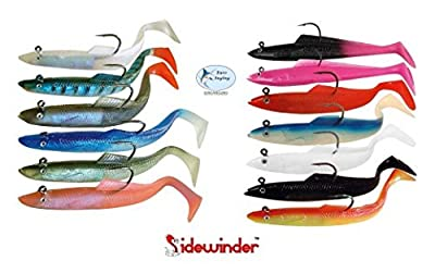 "Sidewinder Super Solid 6"" Sandeel by Kiddy"
