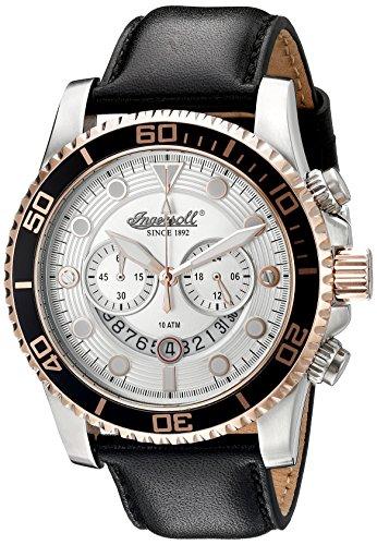 ingersoll-quartz-hommes-de-montre-quartz-avec-cadran-argent-chronographe-affichage-et-sangle-en-cuir