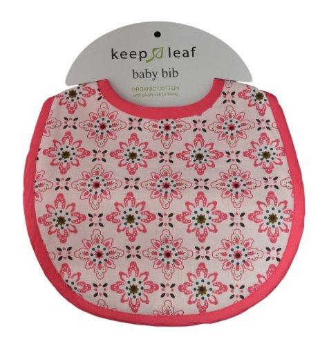 Keep Leaf Organic Baby Bib (Floral) by Keep Leaf Floral Leaf