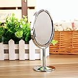kevenanna-325-Inch-dimetro-mesa-doble-cara-giratoria-espejo-de-maquillaje-con-8-aumentos-apto-para-dormitorio-y-bao