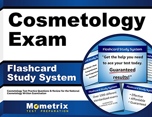 Cosmetology Exam Flashcard Study System Cosmetology Test Practice Questions Review For The National Cosmetology Written Examination Cards