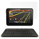 atFolix Schutzfolie kompatibel mit HP Pro Slate 10 EE G1 Bildschirmschutzfolie, HD-Entspiegelung FX Folie (2X)