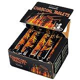 Taffstyle® 100 Stück Shisha Hookah Wasserpfeife Smoking Kohle Holzkohle schnellzündend - 33 mm 10 Rollen -
