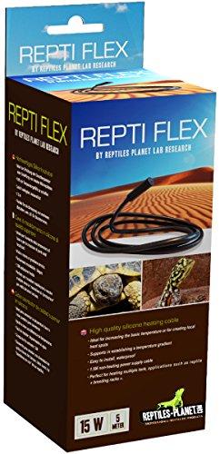 Reptiles Planet Kordeln Haartrockner für Terrarium Reptile Repti Flex 5m 15W