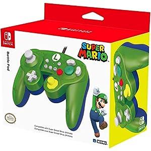 HORI Nintendo Switch Battle Pad (Luigi) Controller im GameCube-Stil
