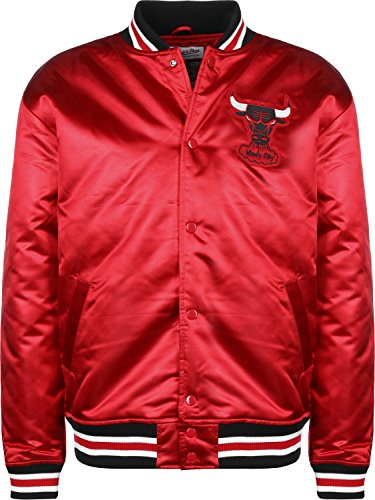 Mitchell & Ness Satin Jacke NBA Chicago Bulls red XL