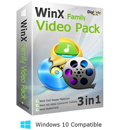 WinX Video Family Pack (Vollversion für das Leben). Das Paket enthält WinX...
