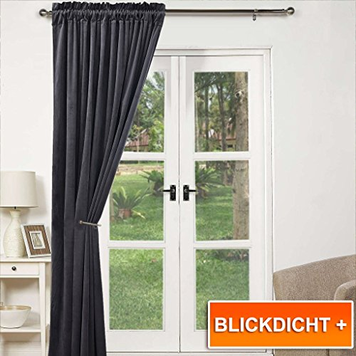 thermal insulated velvet door curtain pony dance rod pocket heavy duty blackout curtain noise reducing u0026 draught draft for window treatment home fashion
